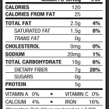 Bulletproof Upgraded Chocolate Powder Nutrition Facts