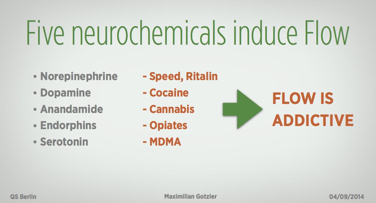 Neuroschemicals in Flow