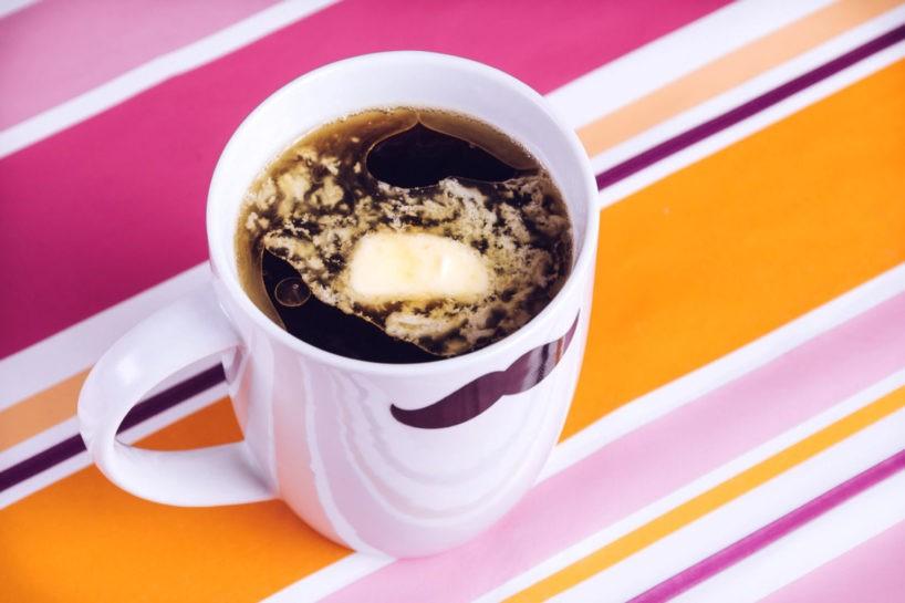 Butter im Kaffee