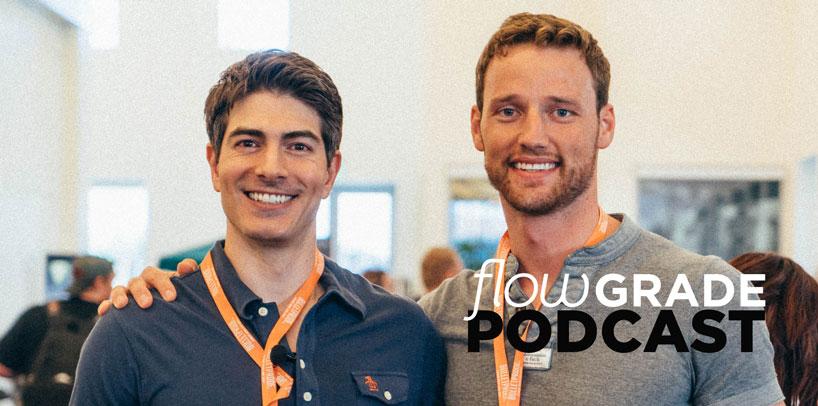Superman Brandon Routh im flowGrade Podcast