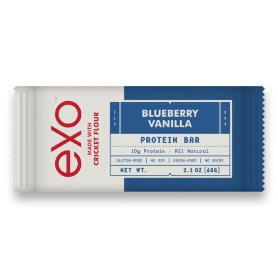 EXO Proteinriegel Box - Blueberry Vanilla