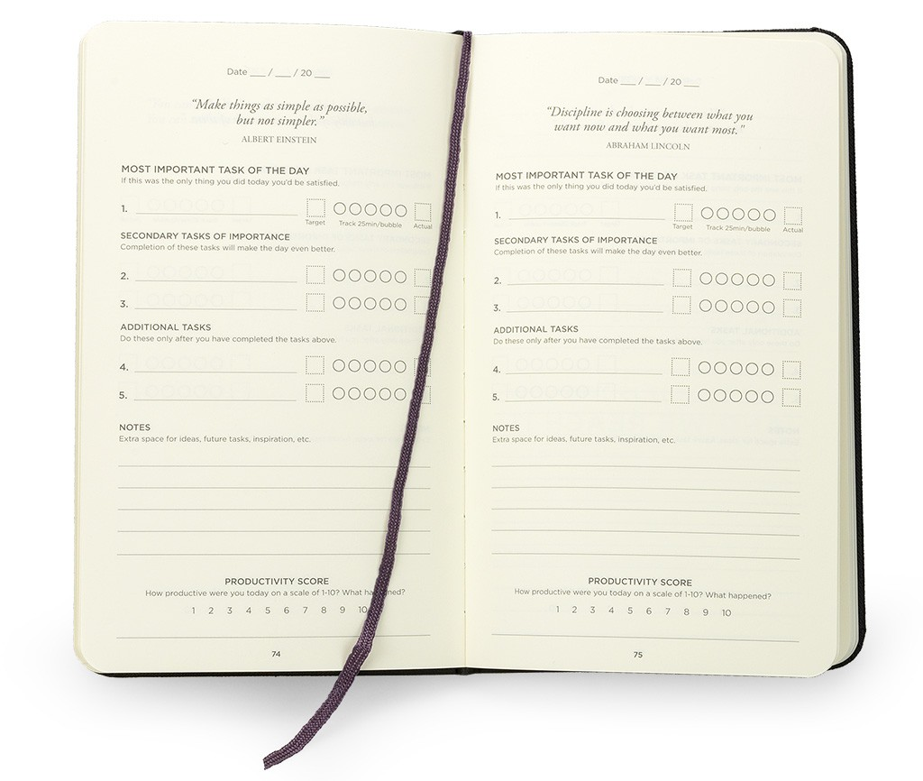 Productivity Planner Day Pages