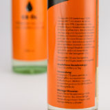 Flowgrade C8 Öl Etikett