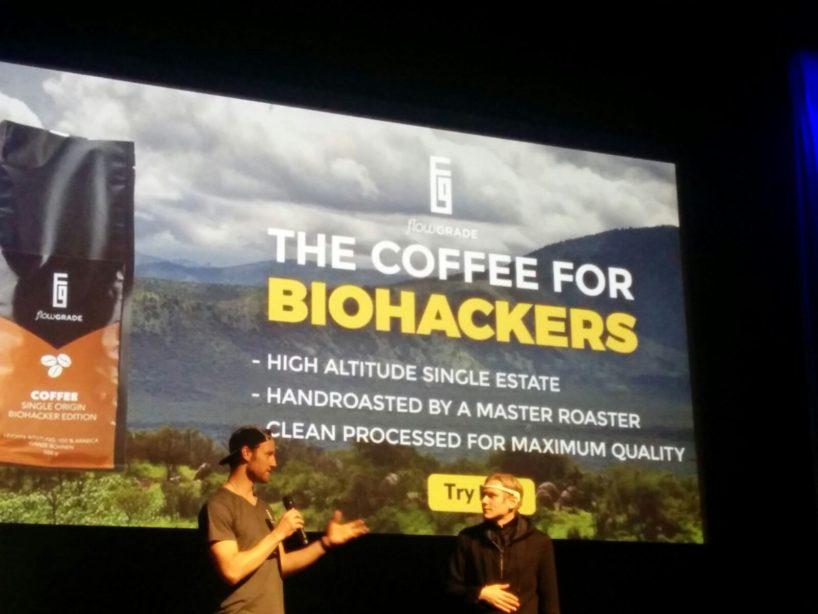 Flowgrade Kaffee Biohacker Edition at the Biohacker Summit London