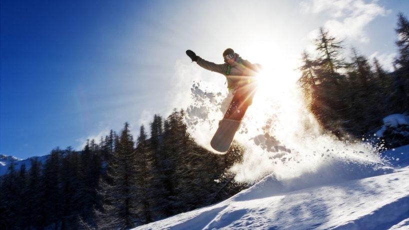 Flow Trigger Snowboarder