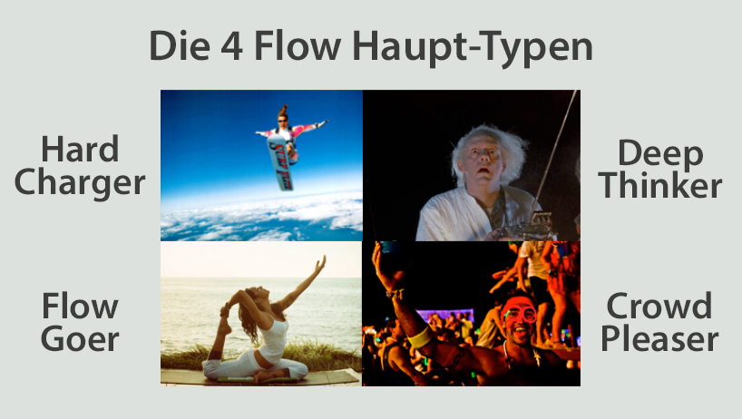 4 Flow Haupttypen