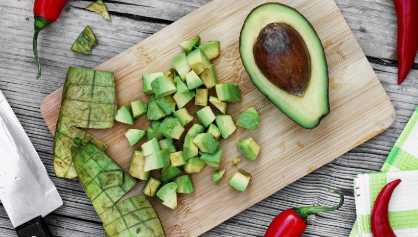 Avocado gewürfelt