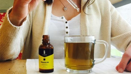 Vitamin D im Tee