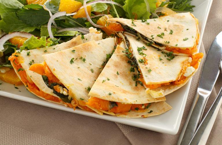 Kürbis Tortilla