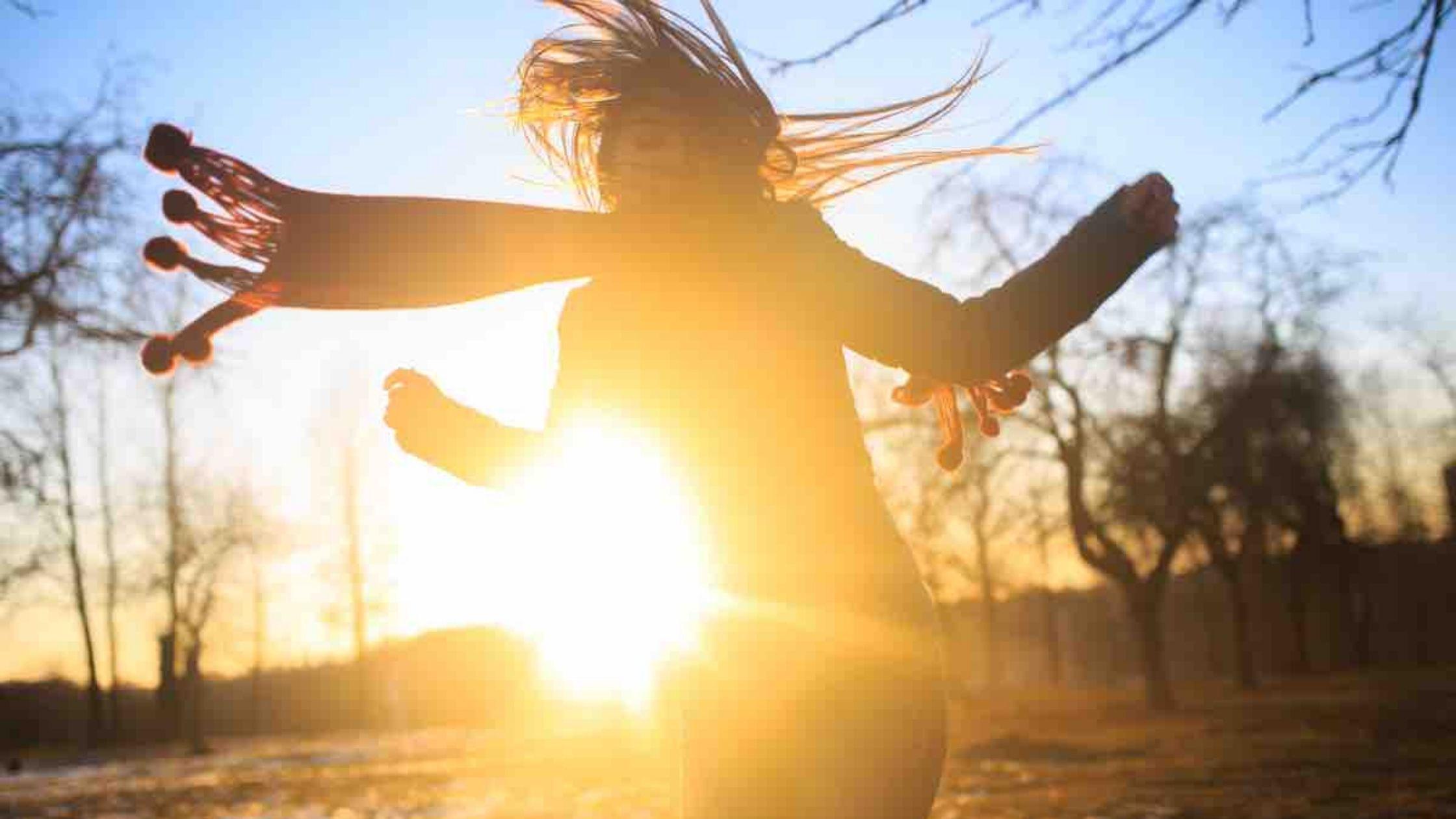 Vitamin D Tropfen sind flüssiges Sonnenlicht