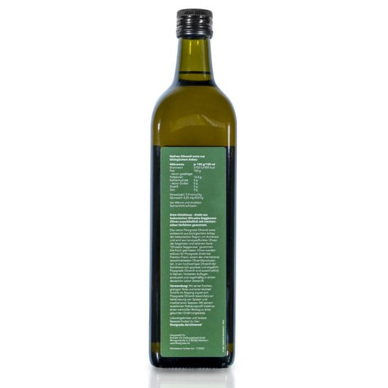 Olivenoel 1000ml Rueckseite
